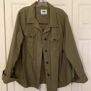Old navy army green jacket